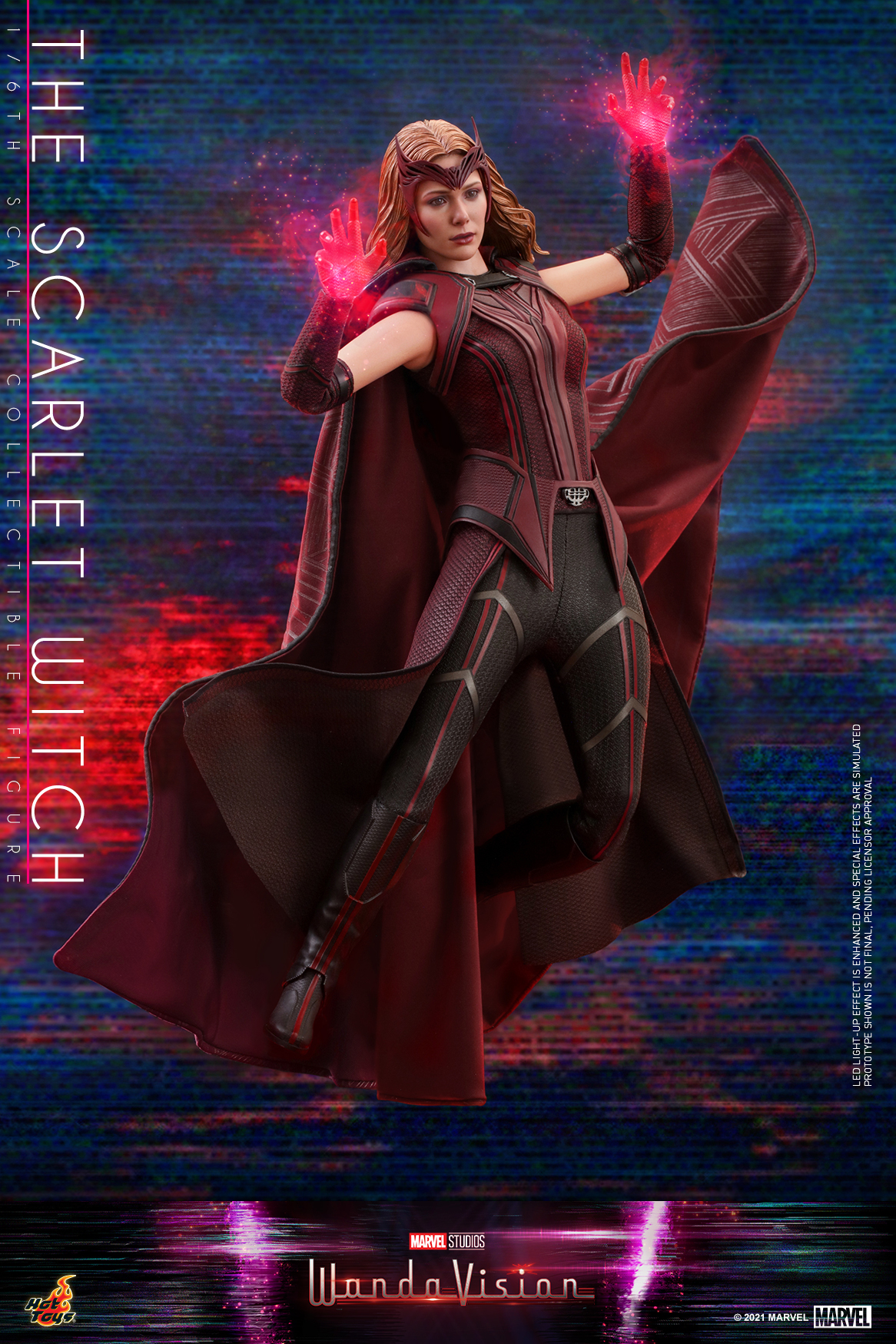 Hot Toys - WandaVision - The Scarlet Witch collectible figure_PR4