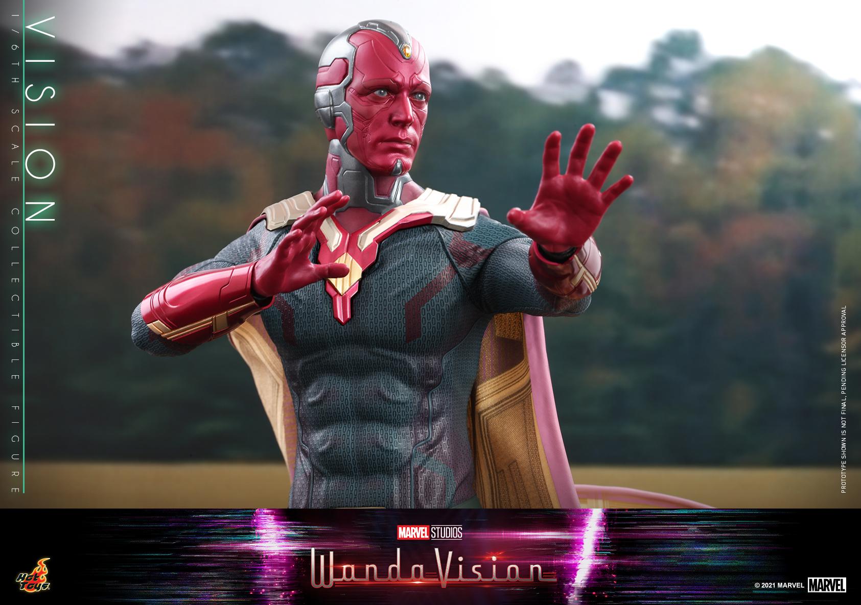 Hot Toys - WandaVision - Vision collectible figure_PR16