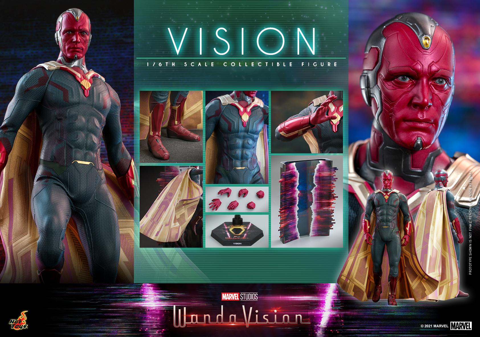 Hot Toys - WandaVision - Vision collectible figure_PR20