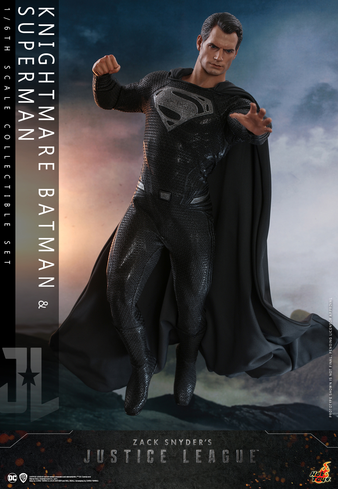 Hot Toys - Zack Snyder Justice League - Knightmare Batman and Superman Collectible Set_PR15