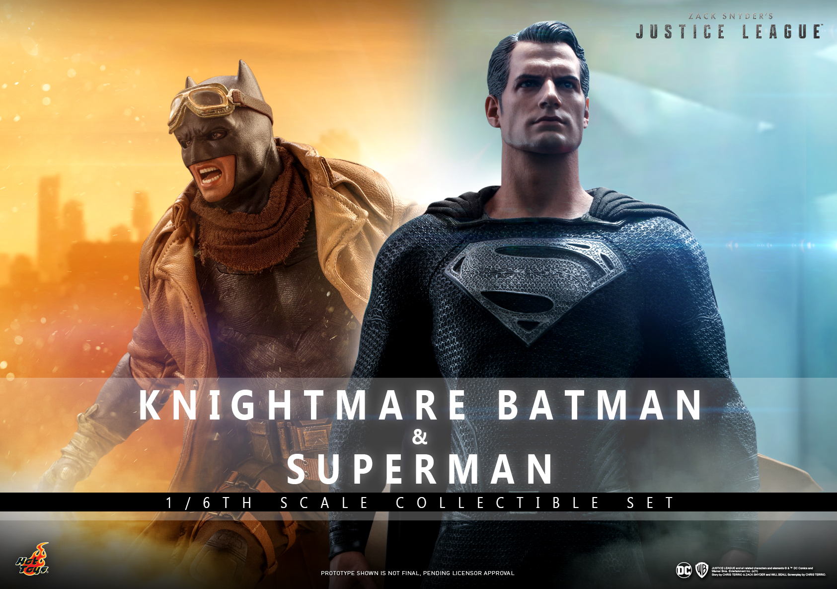 Hot Toys - Zack Snyder Justice League - Knightmare Batman and Superman Collectible Set_Poster