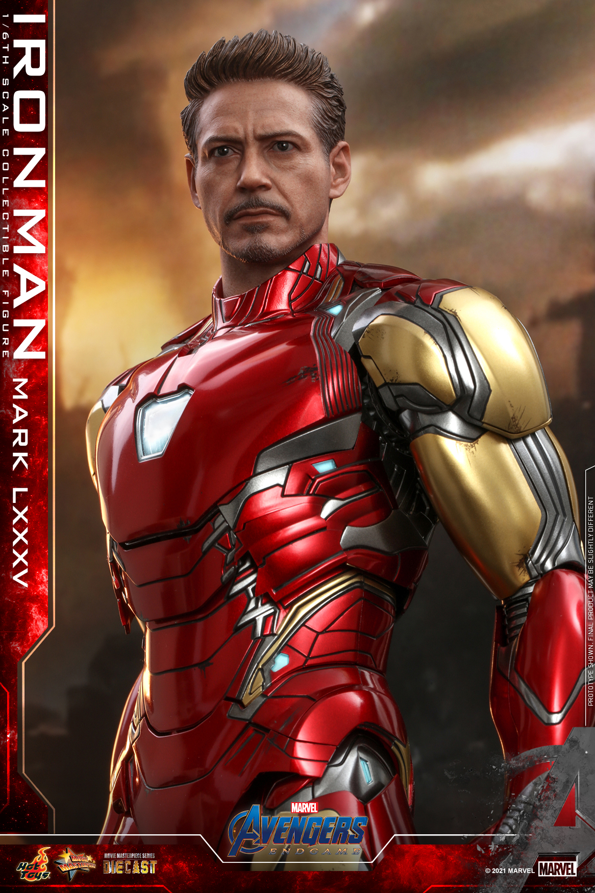 Hot Toys Avengers Endgame Iron Man Mark LXXXV collectible figure_updated head sculpt_PR2_