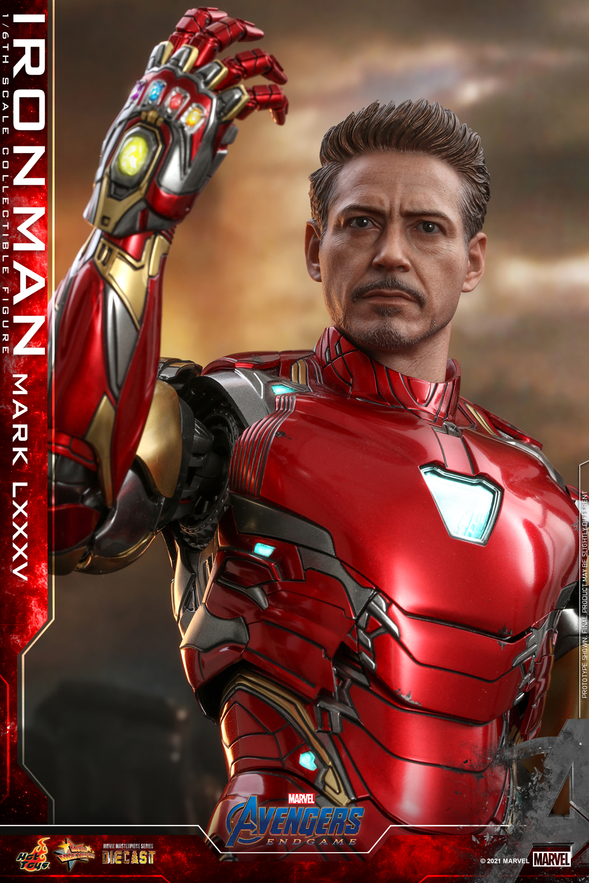 Hot Toys Avengers Endgame Iron Man Mark LXXXV collectible figure_updated head sculpt_PR4_