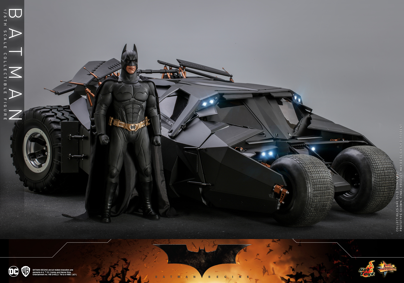 Hot Toys - Batman Begins - Batman collectible figure_PR21