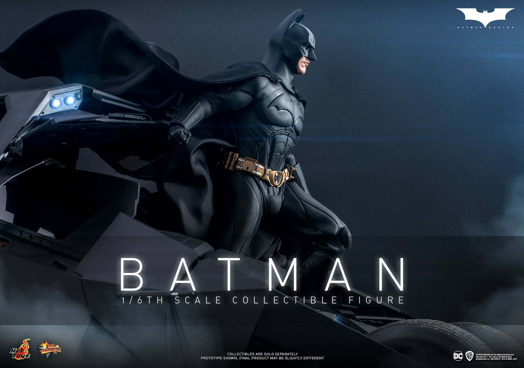 Hot Toys - Batman Begins - Batman collectible figure_Poster