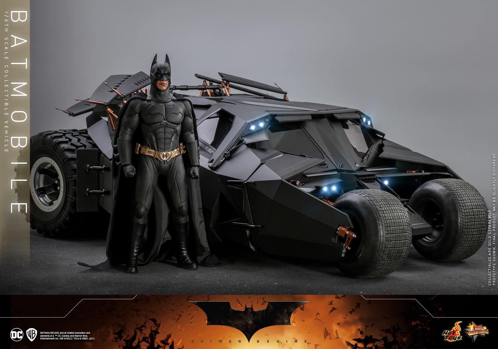 Hot Toys - Batman Begins - Batmobile collectible Vehicle_PR3
