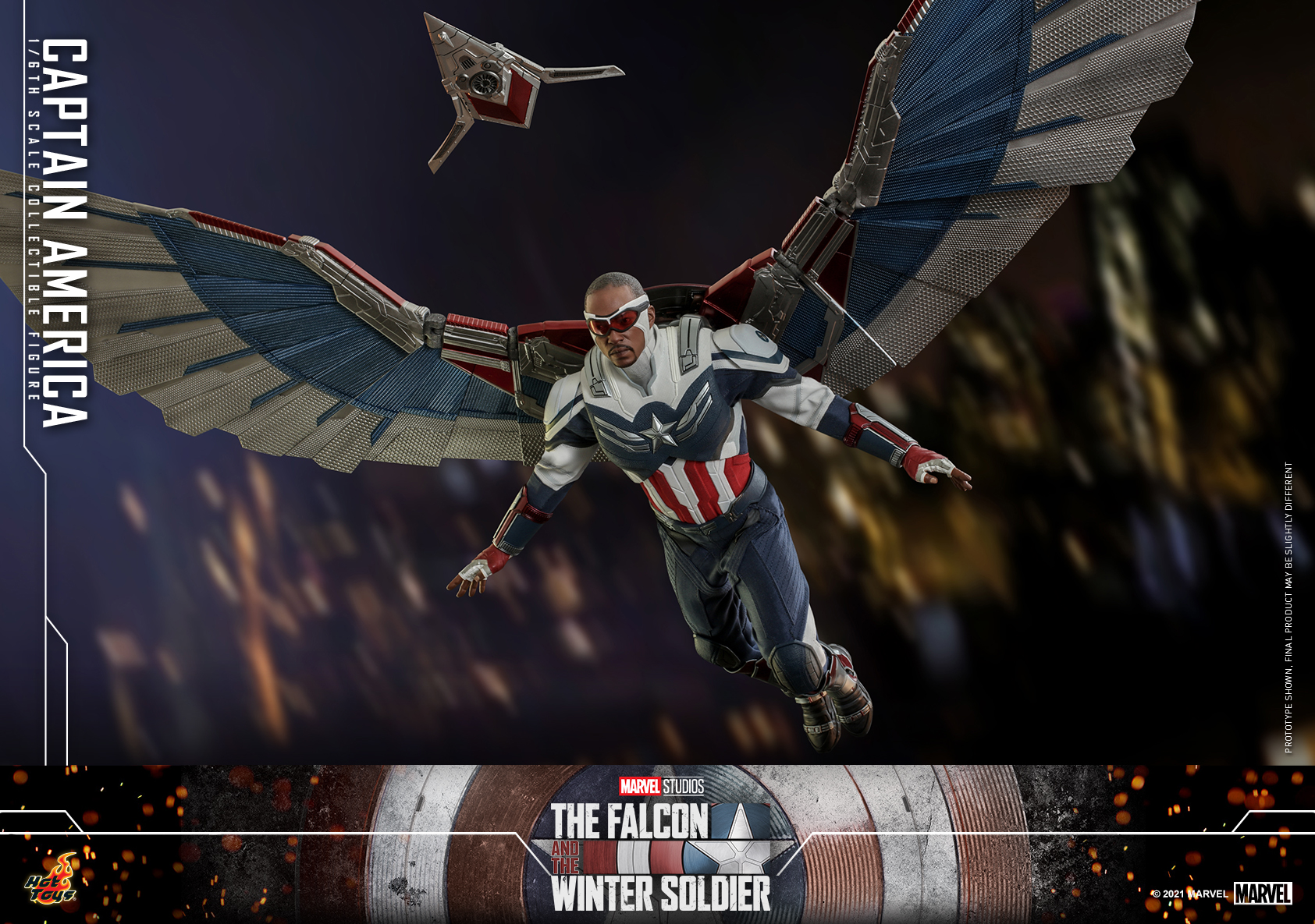 Hot Toys - Falcon and Winter Soldier - Captain America collectible figure_PR4