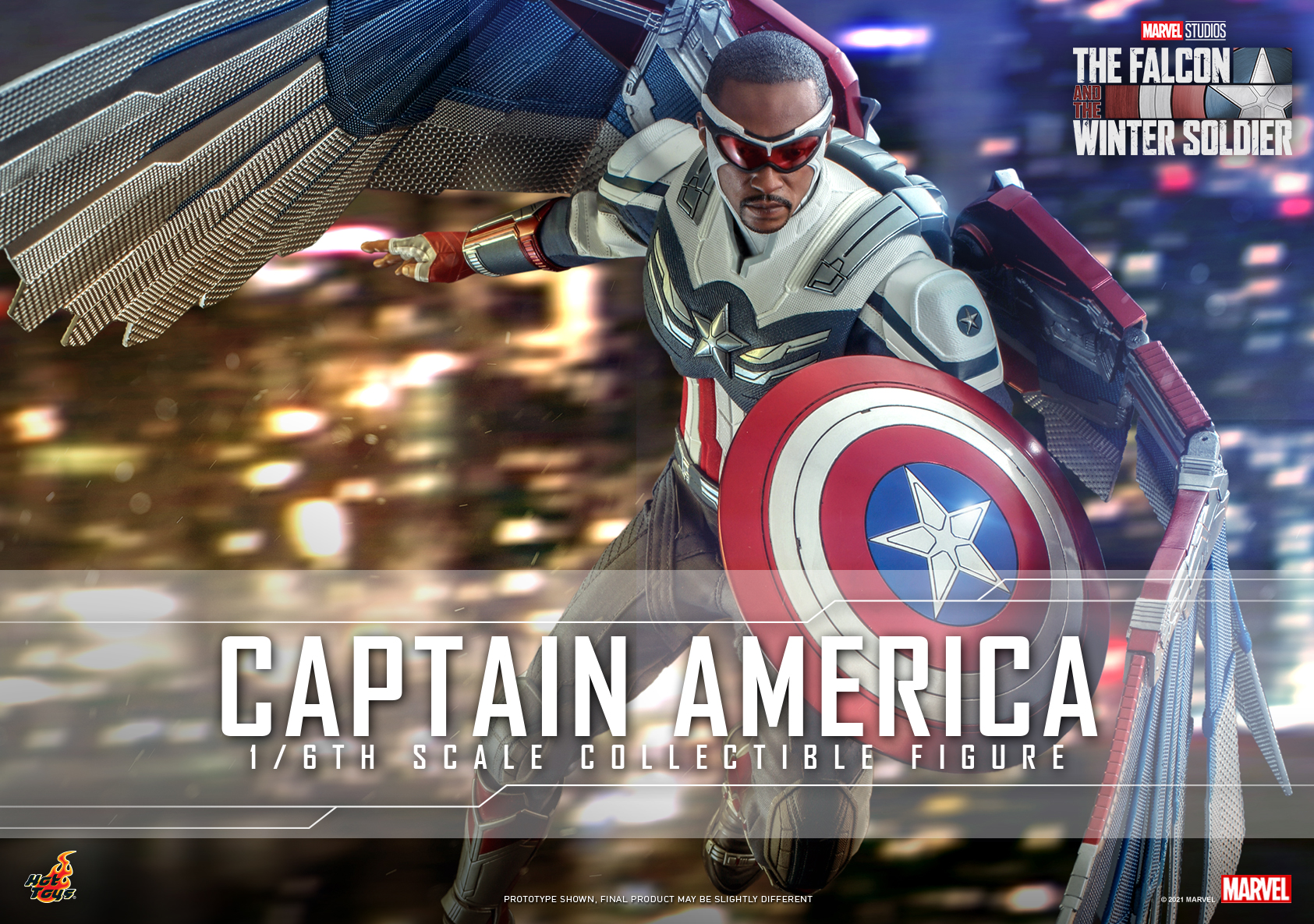 Hot Toys - Falcon and Winter Soldier - Captain America collectible figure_Poster