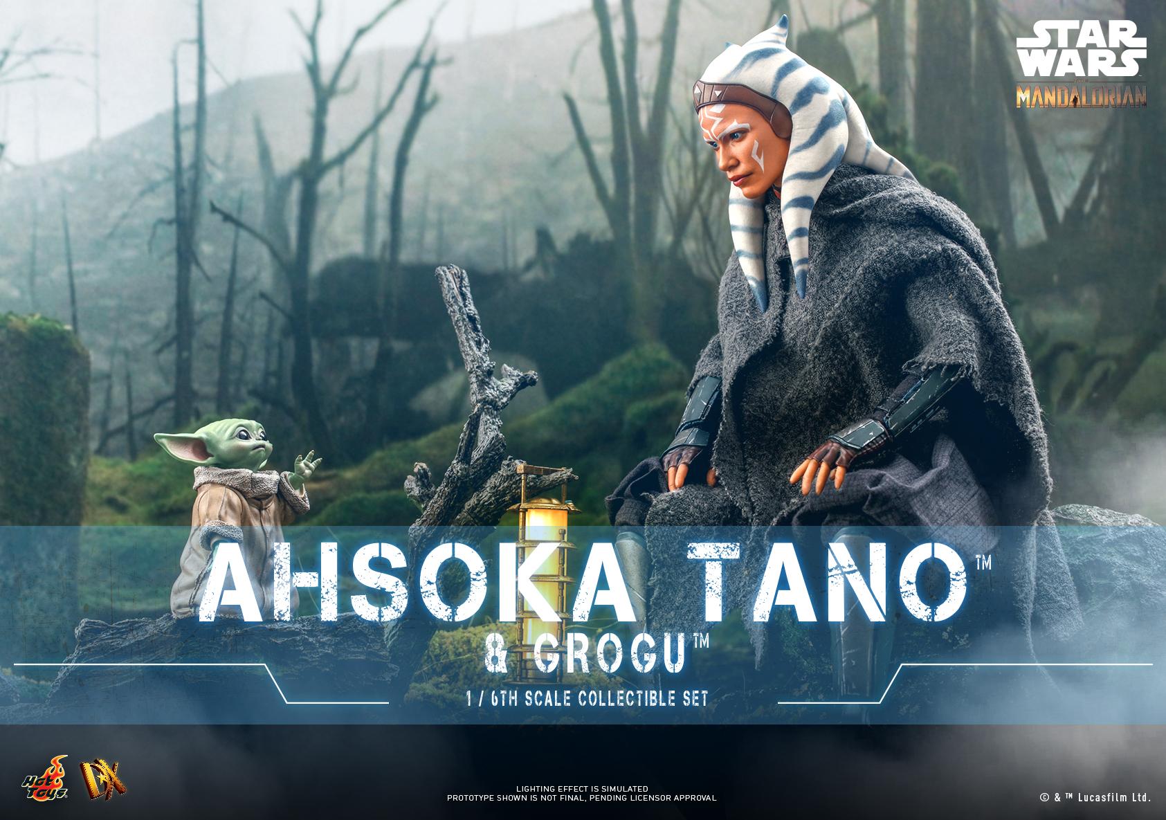 Hot Toys - SM - Ashoka Tano and Grogu Set_Poster
