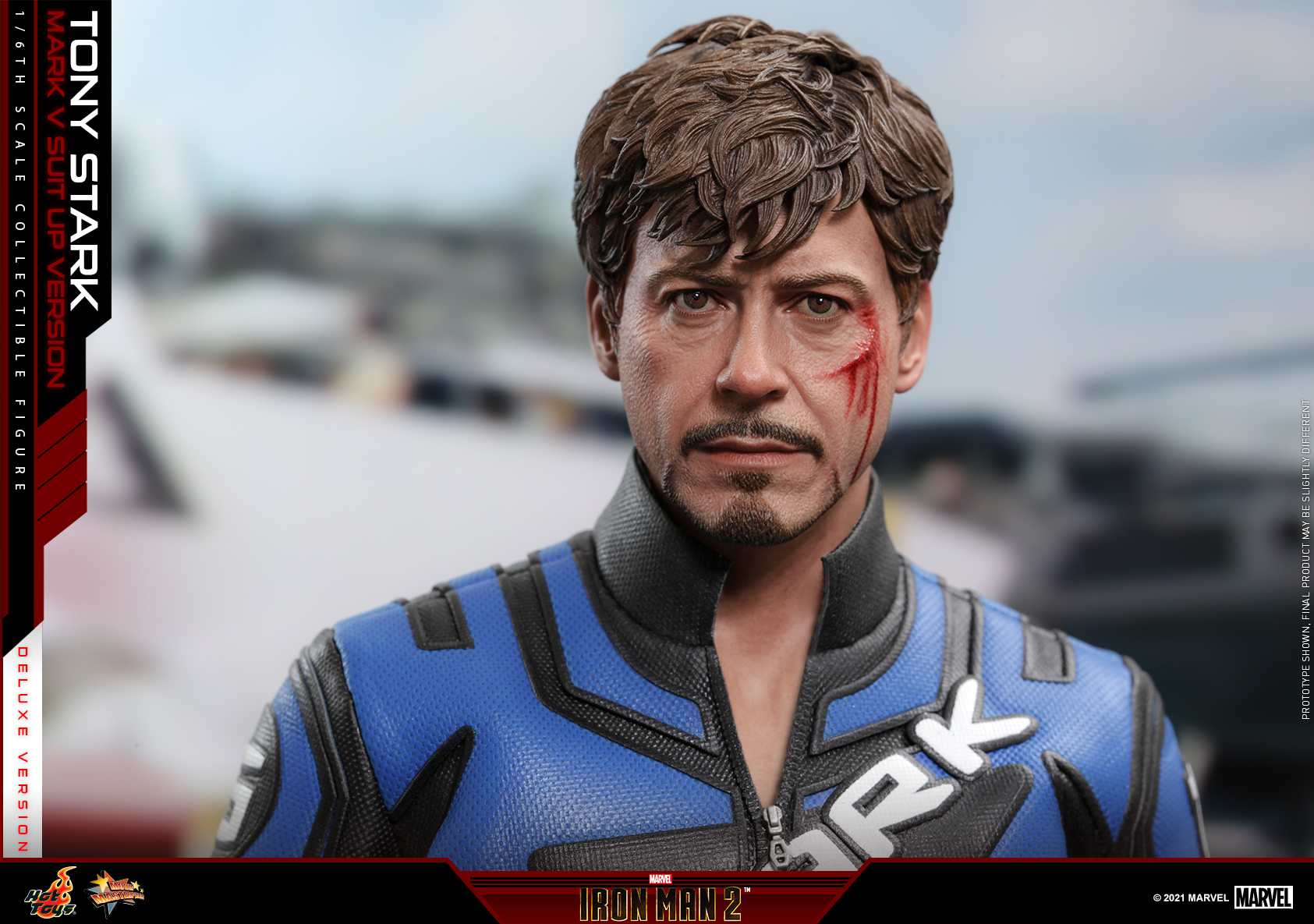 Hot Toys - IM2 - Tony Stark (Mark V Suit Up Version) collectible figure (Deluxe)_PR11