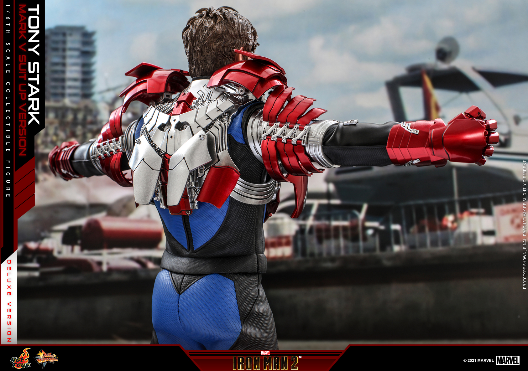 Hot Toys - IM2 - Tony Stark (Mark V Suit Up Version) collectible figure (Deluxe)_PR14