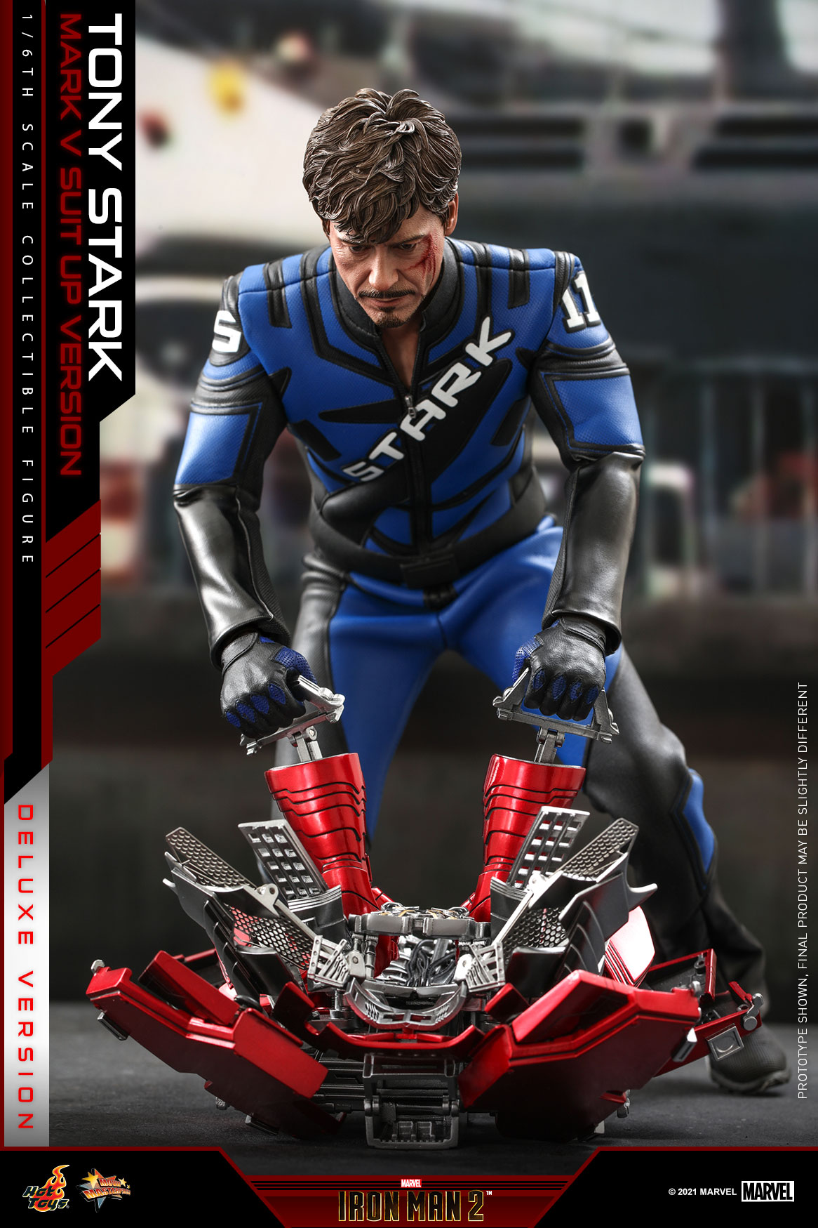 Hot Toys - IM2 - Tony Stark (Mark V Suit Up Version) collectible figure (Deluxe)_PR7