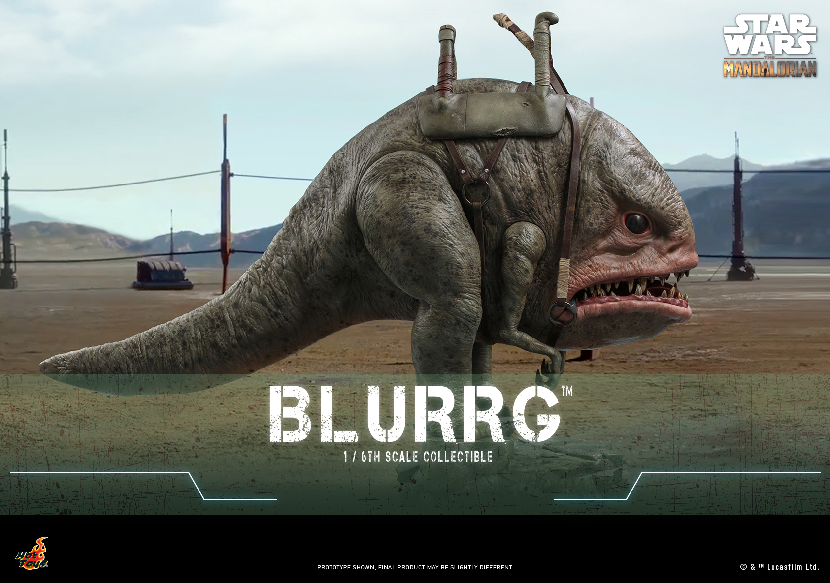 Hot Toys - Mando I - Blurrg Collectible_Poster