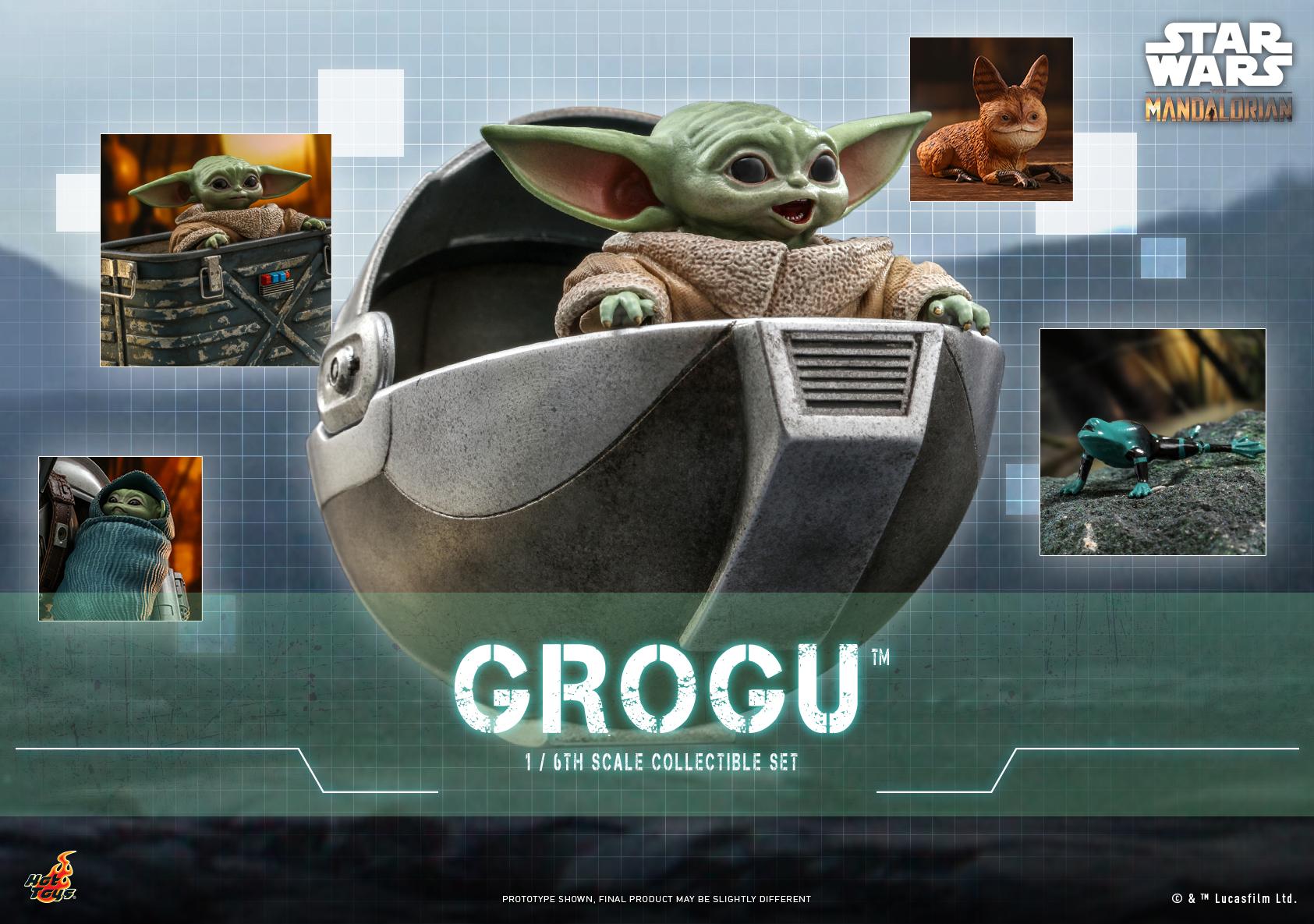 Hot Toys - Mando I - Grogu Set_Poster