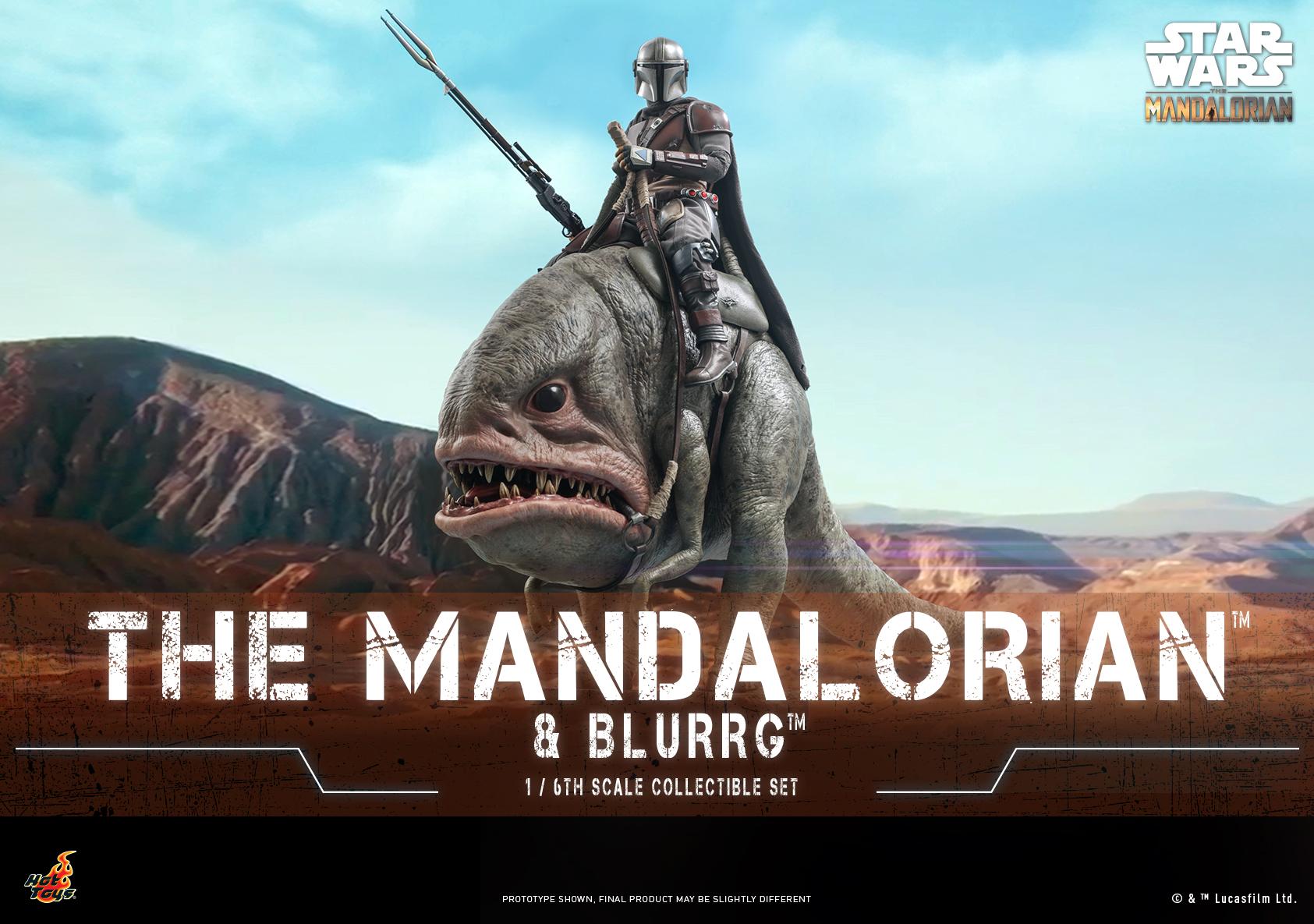 Hot Toys - Mando I - Mandalorain & Blurrg Set_Poster