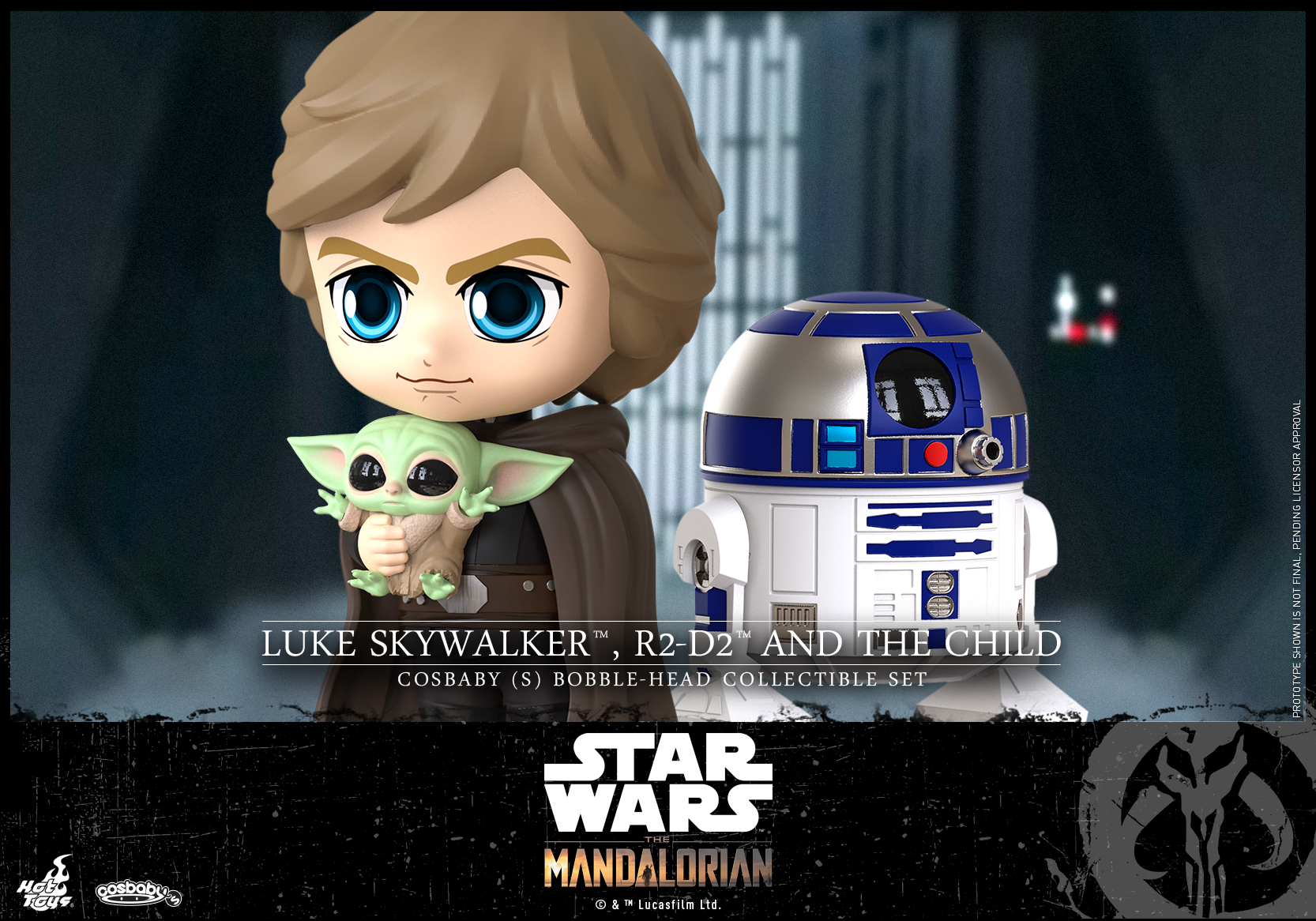 Hot Toys - Mando II - Luke Skywalker, R2-D2 and The Child Cosbaby_PR2