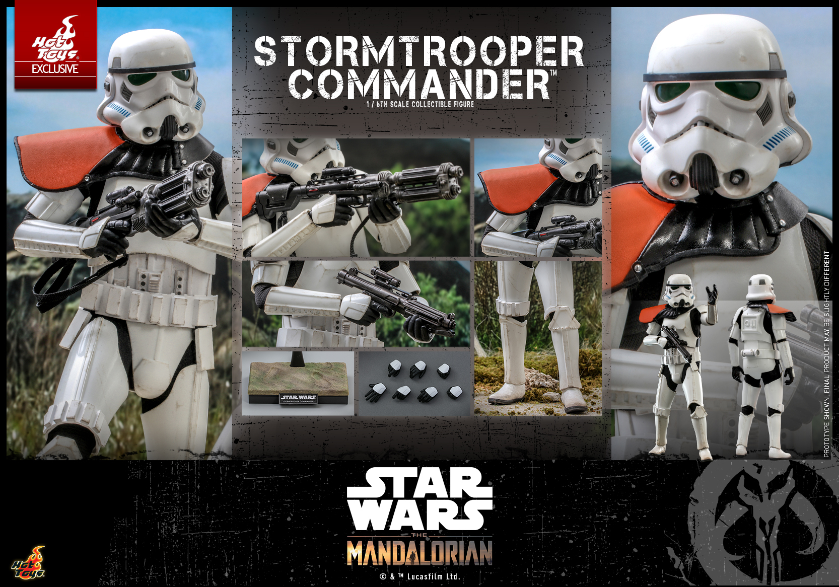 Hot Toys - Mando II - Stormtrooper Commander Collectible Figure_PR16