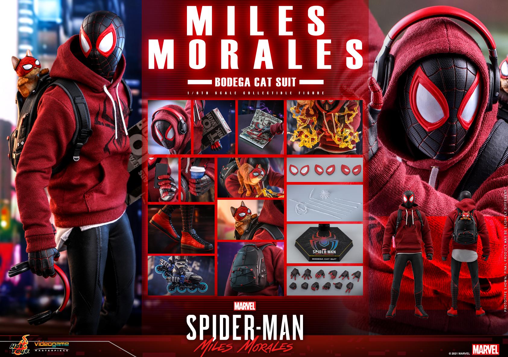Hot Toys - SMMM - Miles Morales (Bodega Cat Suit) collectible figure_PR19