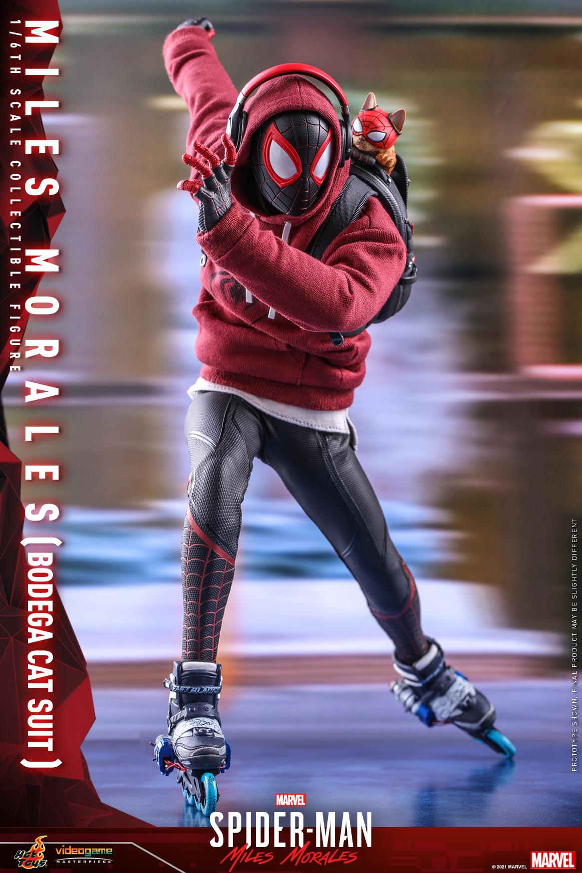 Hot Toys - SMMM - Miles Morales (Bodega Cat Suit) collectible figure_PR9