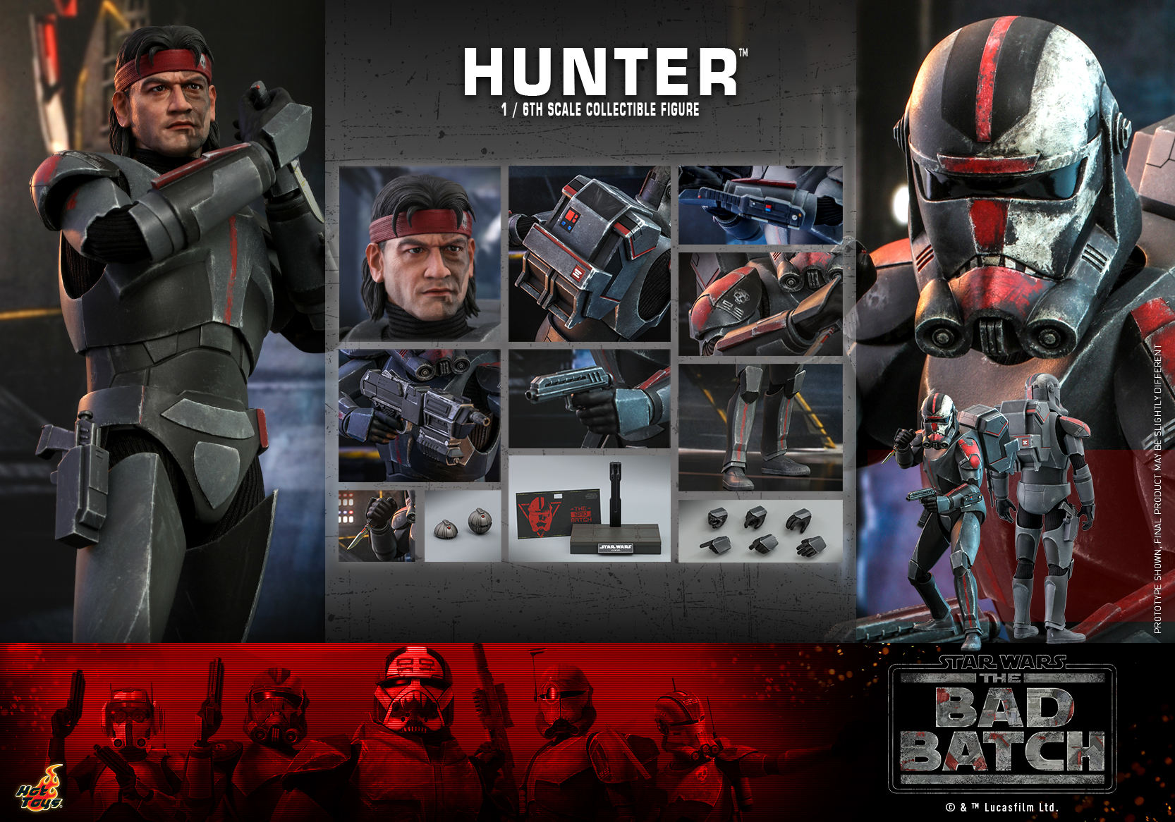 Hot Toys - Bad Batch - Hunter Collectible Figure_PR18