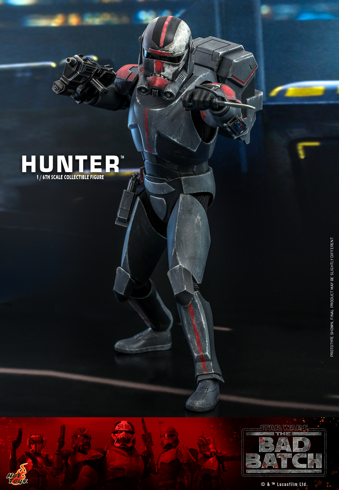 Hot Toys - Bad Batch - Hunter Collectible Figure_PR5