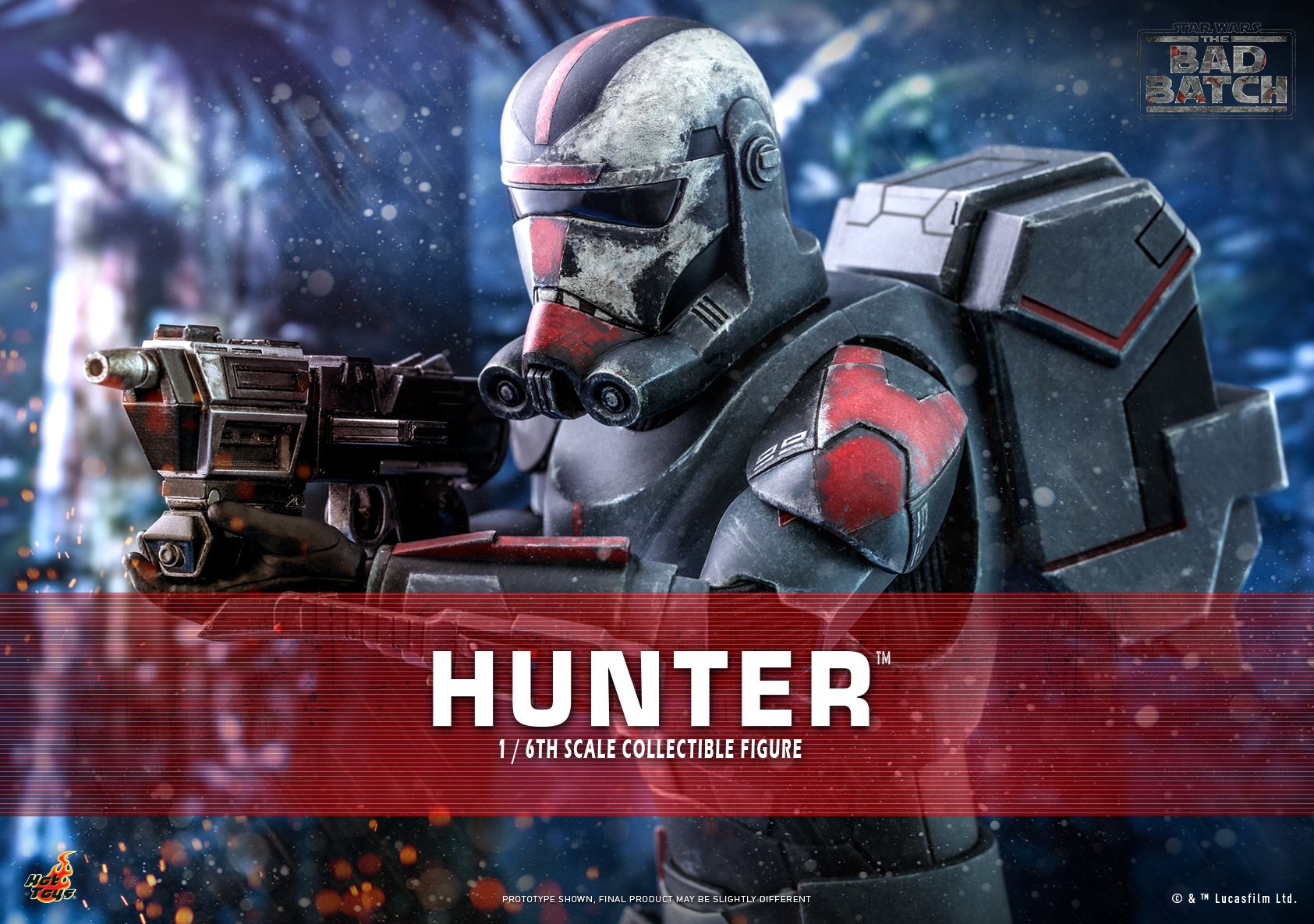 Hot Toys - Bad Batch - Hunter Collectible Figure_Poster