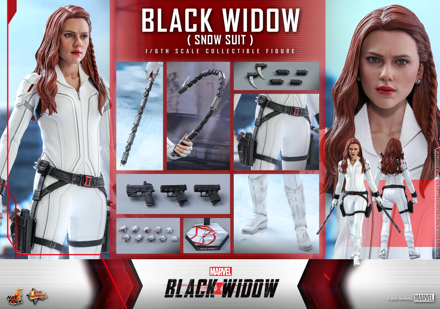 Hot Toys - Black Widow - Black Widow (Snow Suit) collectible figure_PR18