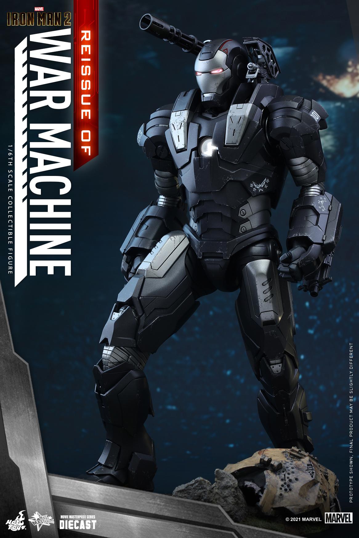 Hot Toys - IM2 - War Machine (Diecast) collectible figure_Re_PR1