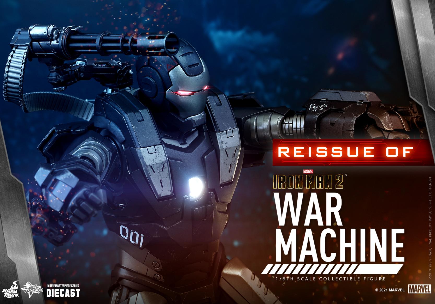 Hot Toys - IM2 - War Machine (Diecast) collectible figure_Re_PR10