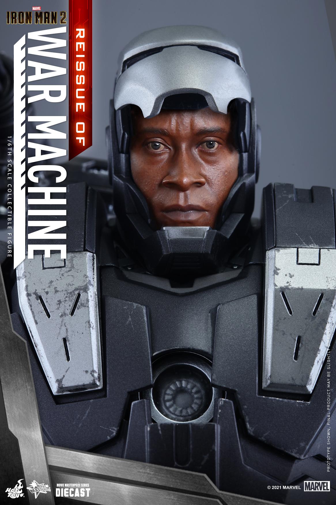 Hot Toys - IM2 - War Machine (Diecast) collectible figure_Re_PR11