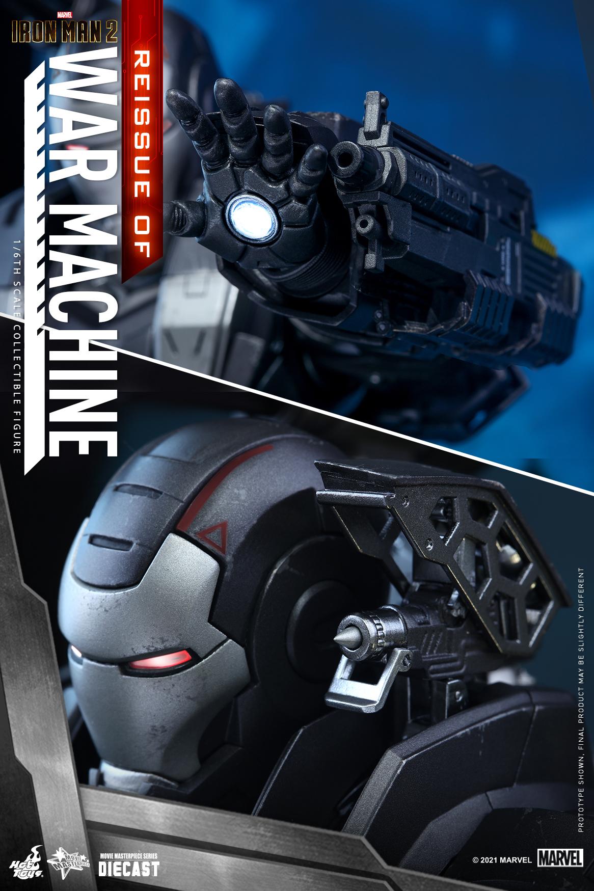 Hot Toys - IM2 - War Machine (Diecast) collectible figure_Re_PR13