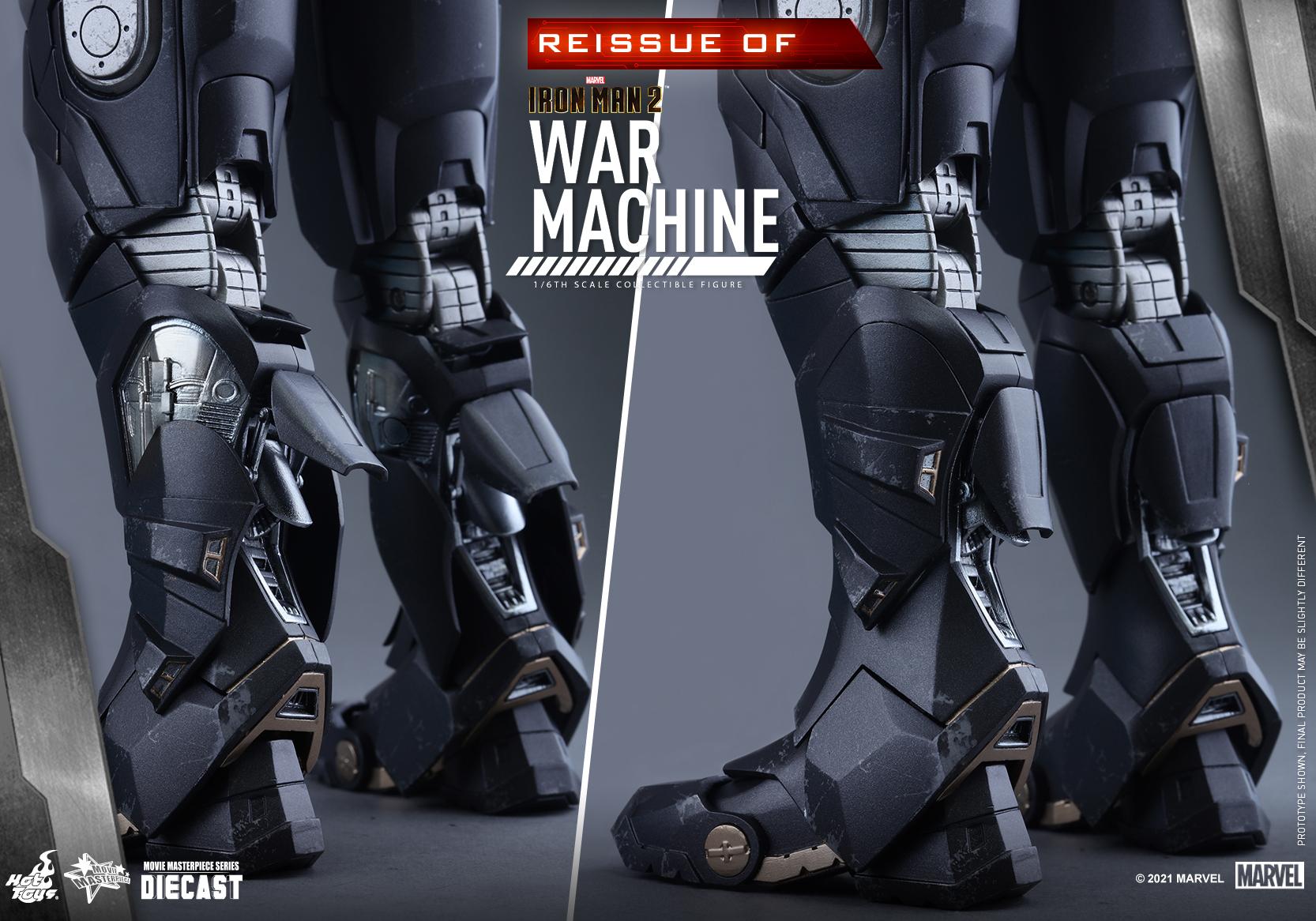 Hot Toys - IM2 - War Machine (Diecast) collectible figure_Re_PR14