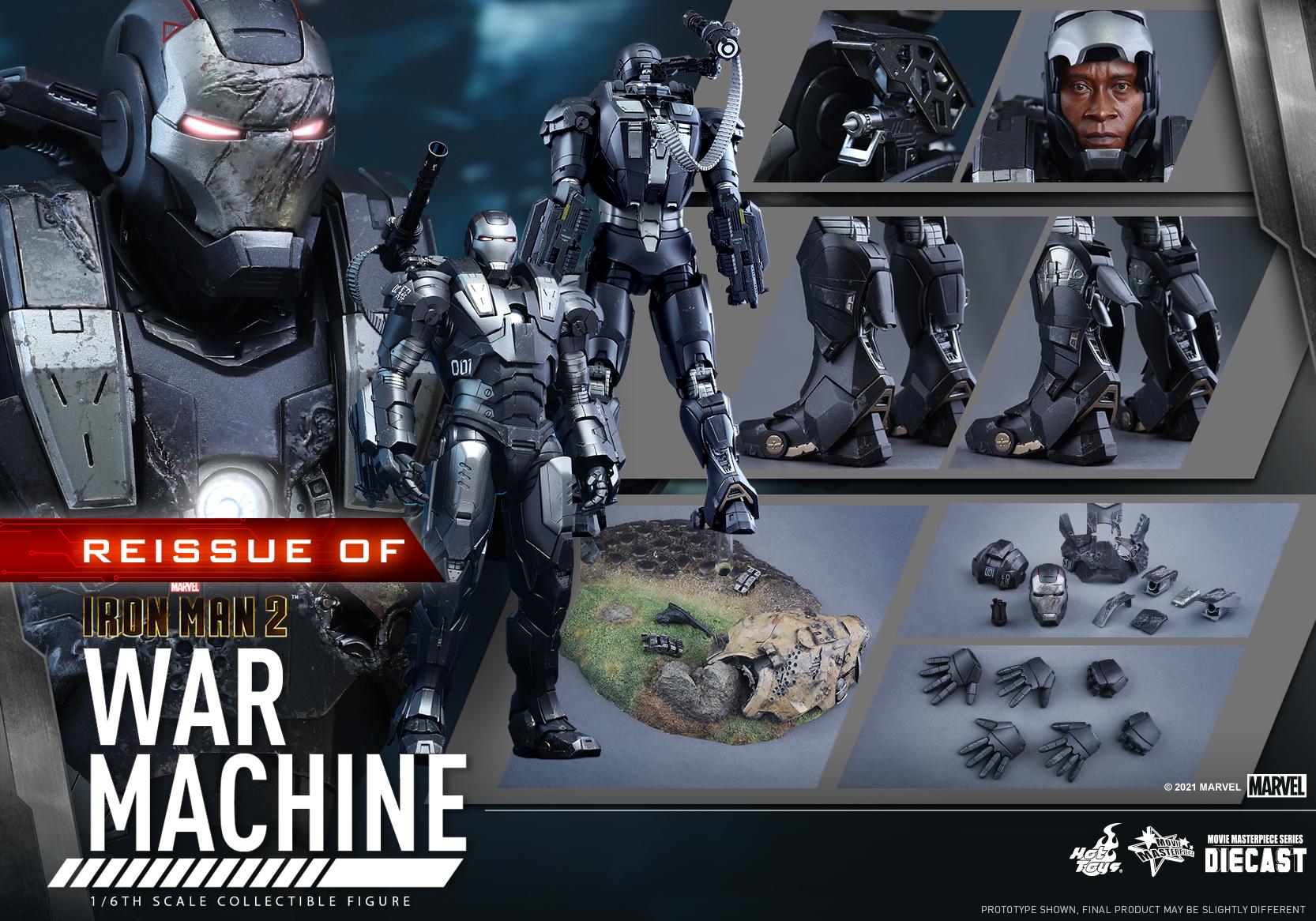 Hot Toys - IM2 - War Machine (Diecast) collectible figure_Re_PR15
