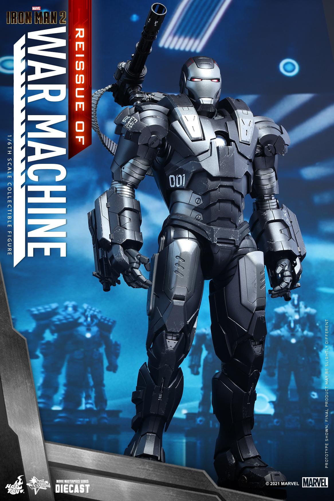 Hot Toys - IM2 - War Machine (Diecast) collectible figure_Re_PR3
