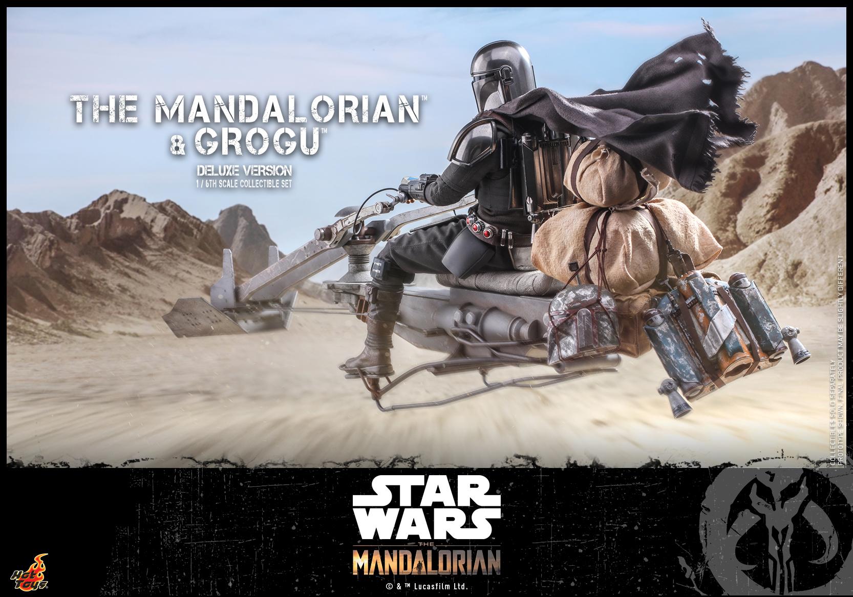 Hot Toys - Mando 2 - Mando & Grogu (Deluxe)_PR13