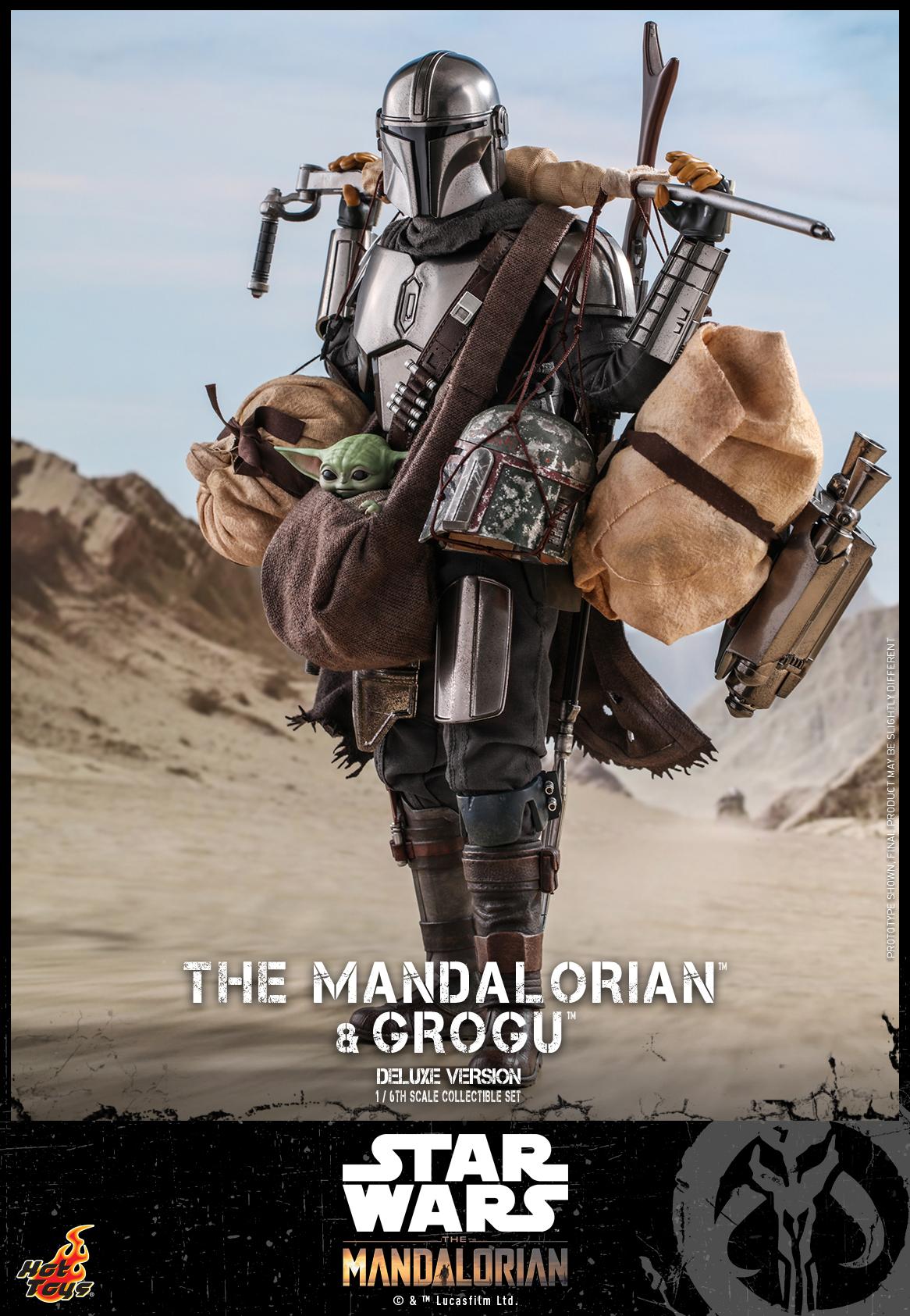 Hot Toys - Mando 2 - Mando & Grogu (Deluxe)_PR17