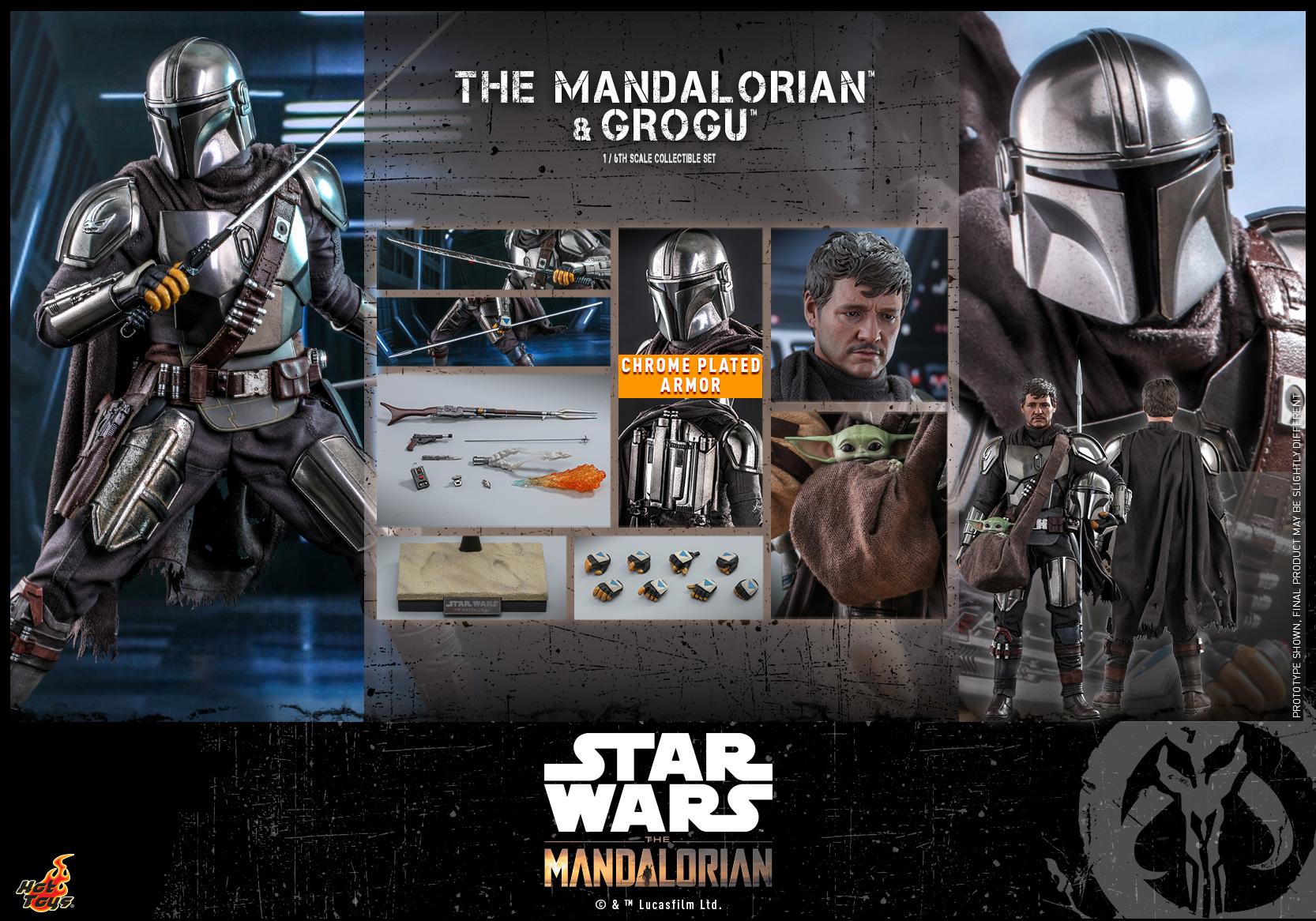 Hot Toys - Mando 2 - Mando & Grogu _PR14