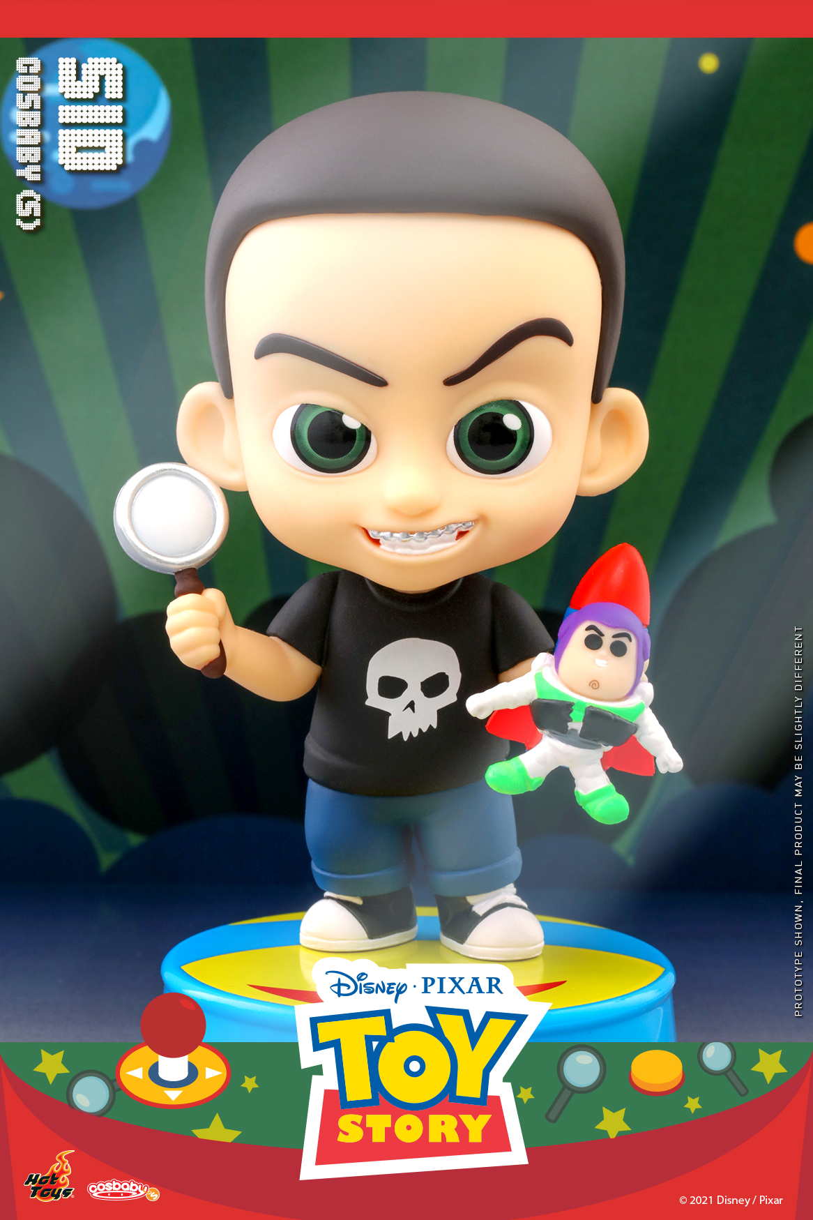 Hot Toys - Toy Story - Sid Cosbaby_PR1