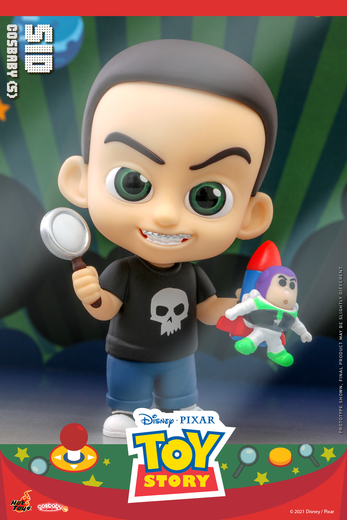 Hot Toys - Toy Story - Sid Cosbaby_PR2