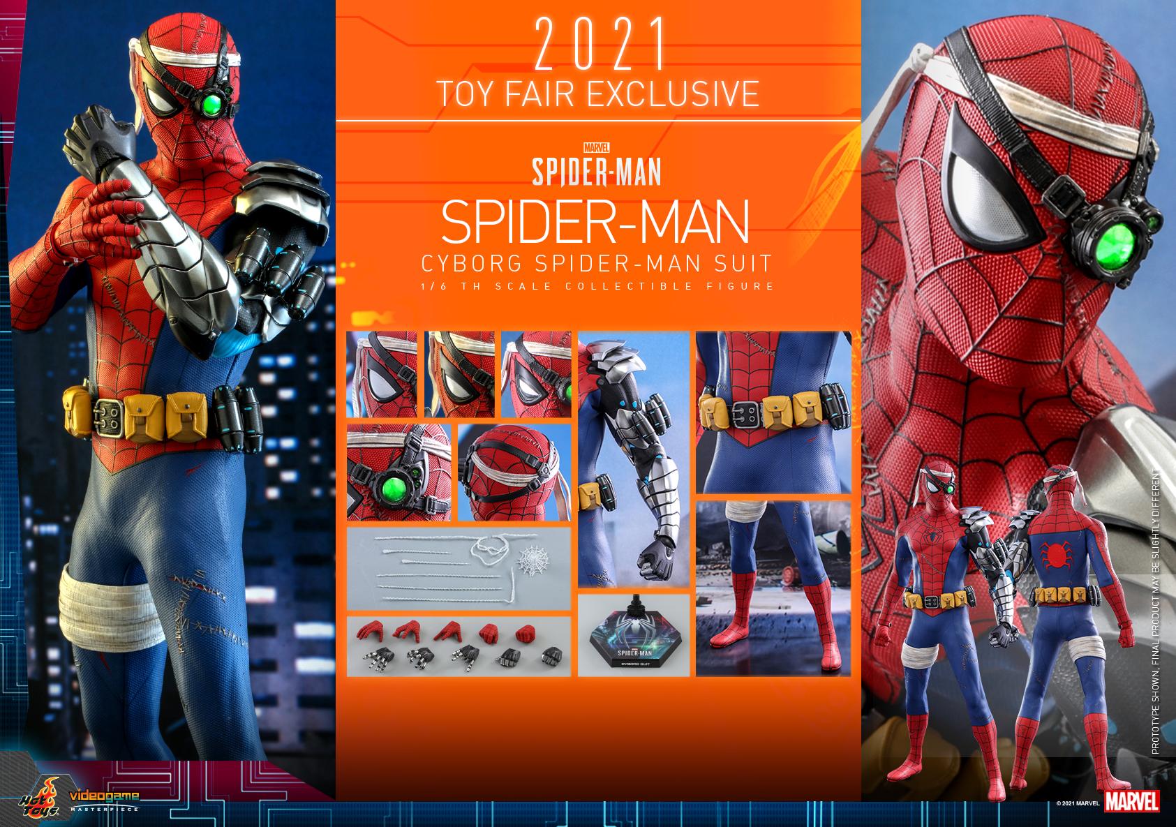 Hot Toys - Spider-Man - Cyborg Spider Man Suit_PR19