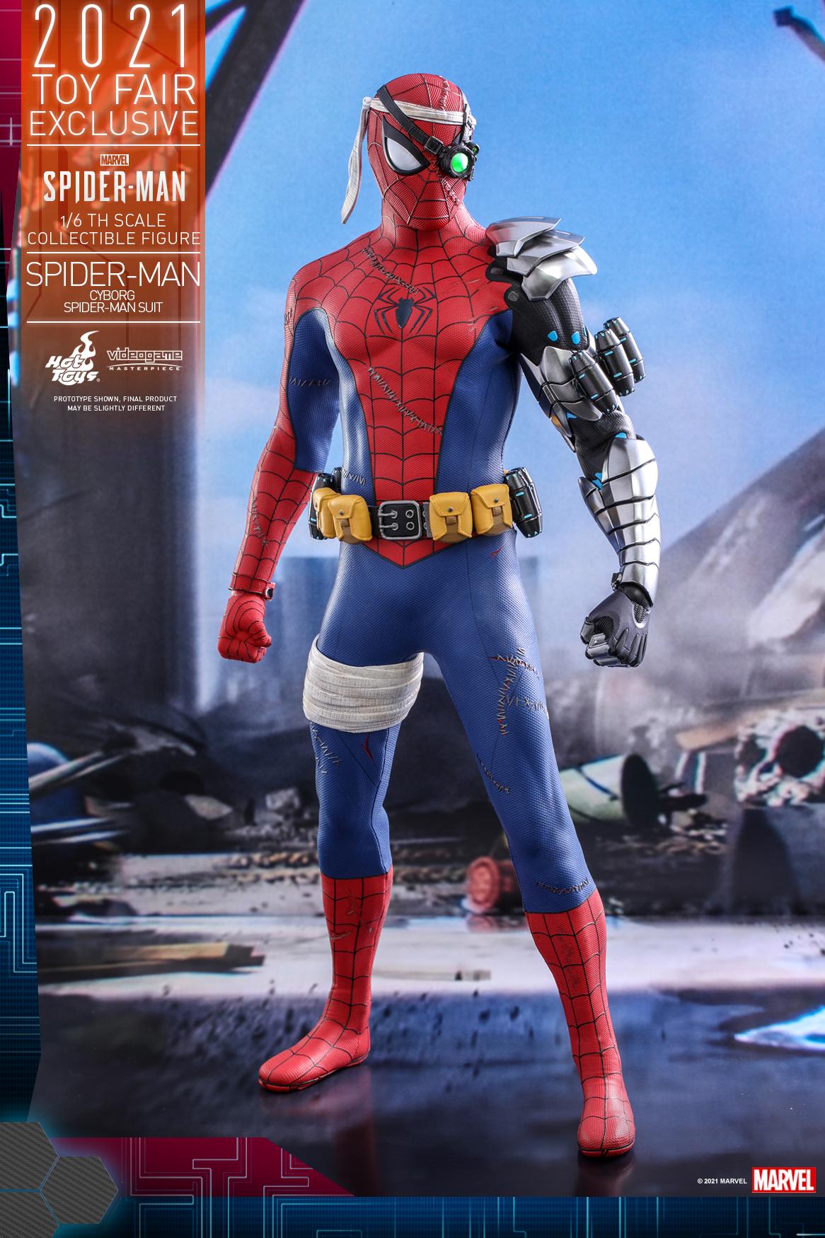 Hot Toys - Spider-Man - Cyborg Spider Man Suit_PR6
