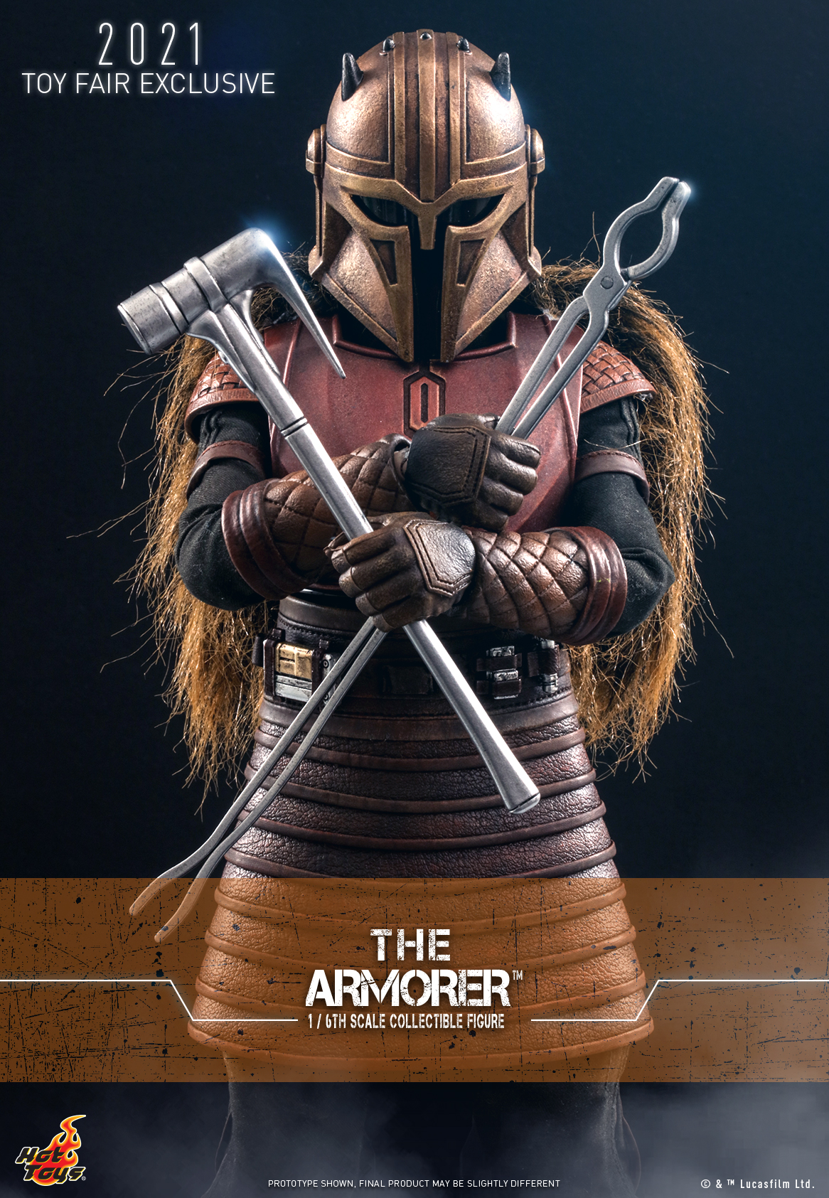 Hot Toys - The Mandalorian - The Armorer collectible figure_Poster