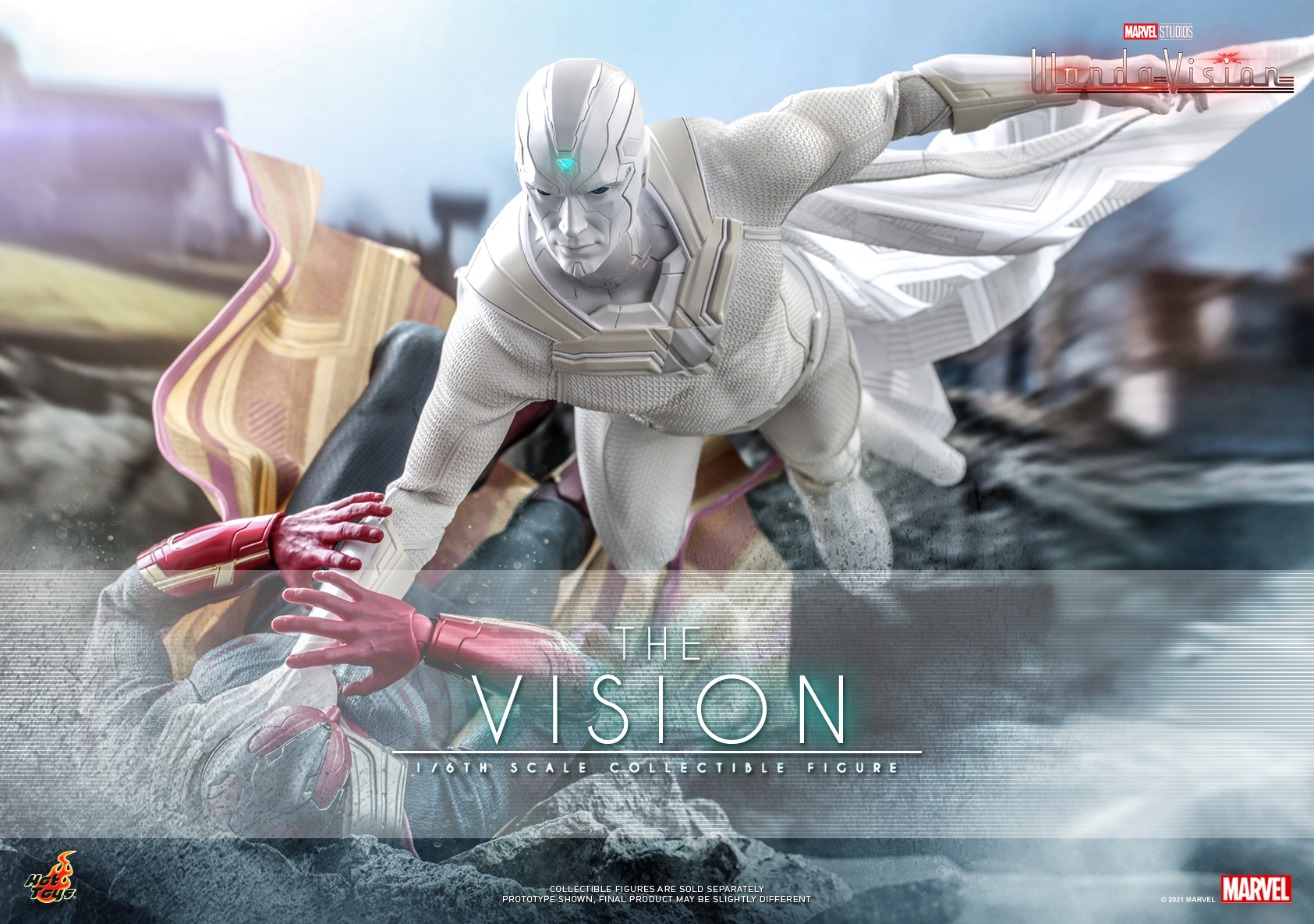 Hot Toys - WandaVision - The Vision collectible figure_Poster