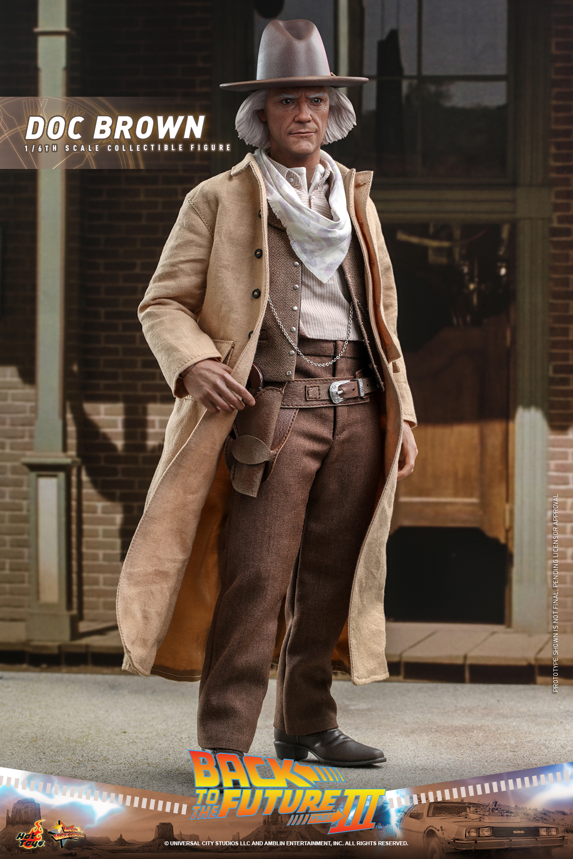 Hot Toys - BTTF3 - Doc Brown collectible figure_PR17