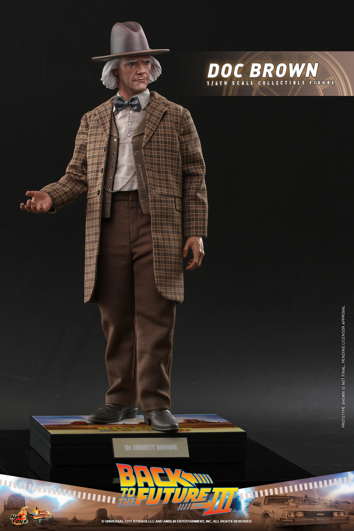 Hot Toys - BTTF3 - Doc Brown collectible figure_PR3