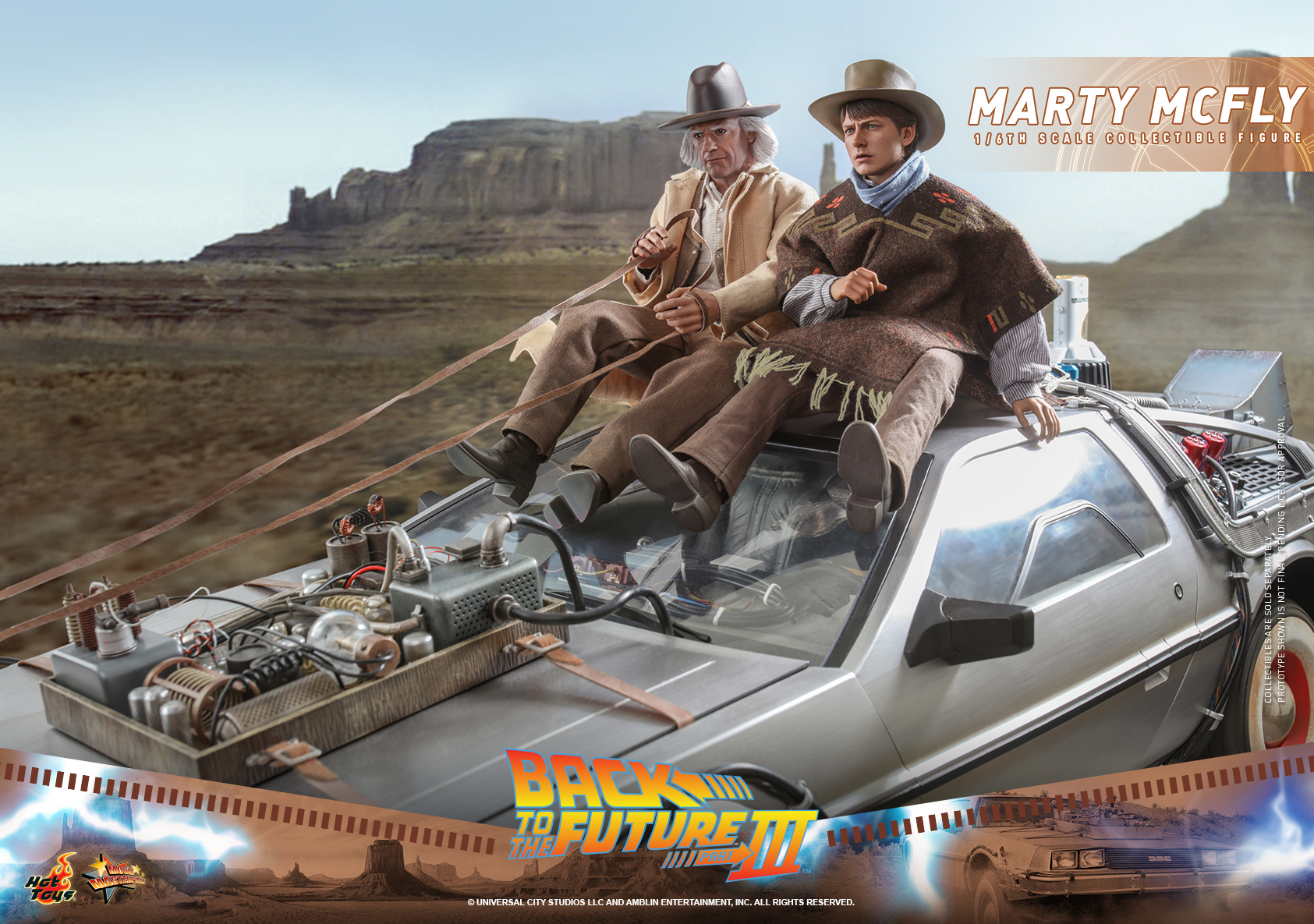 Hot Toys - BTTF3 - Marty McFly collectible figure_PR13