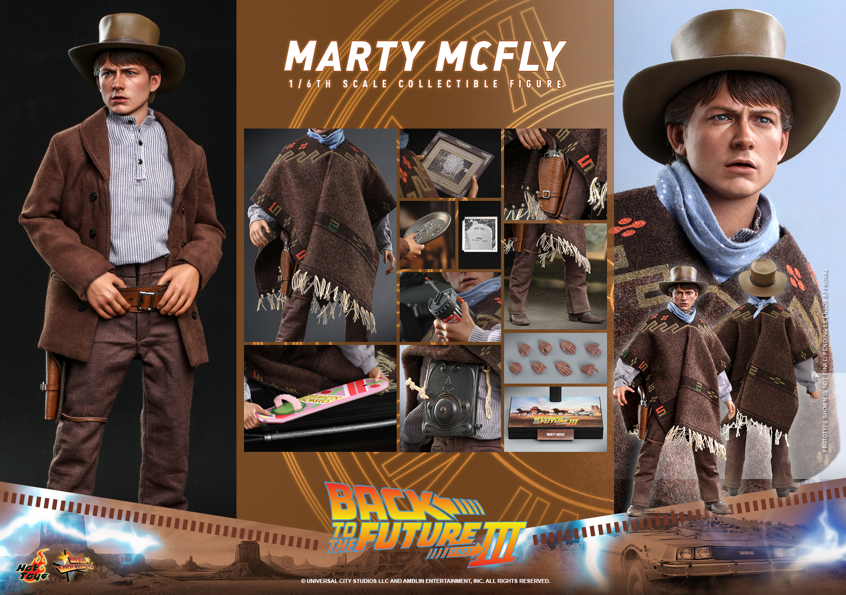 Hot Toys - BTTF3 - Marty McFly collectible figure_PR21