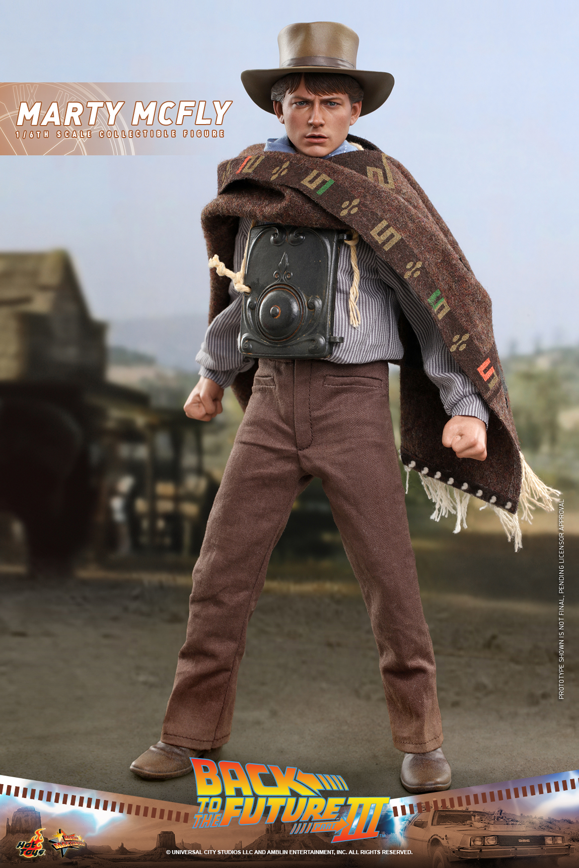 Hot Toys - BTTF3 - Marty McFly collectible figure_PR7