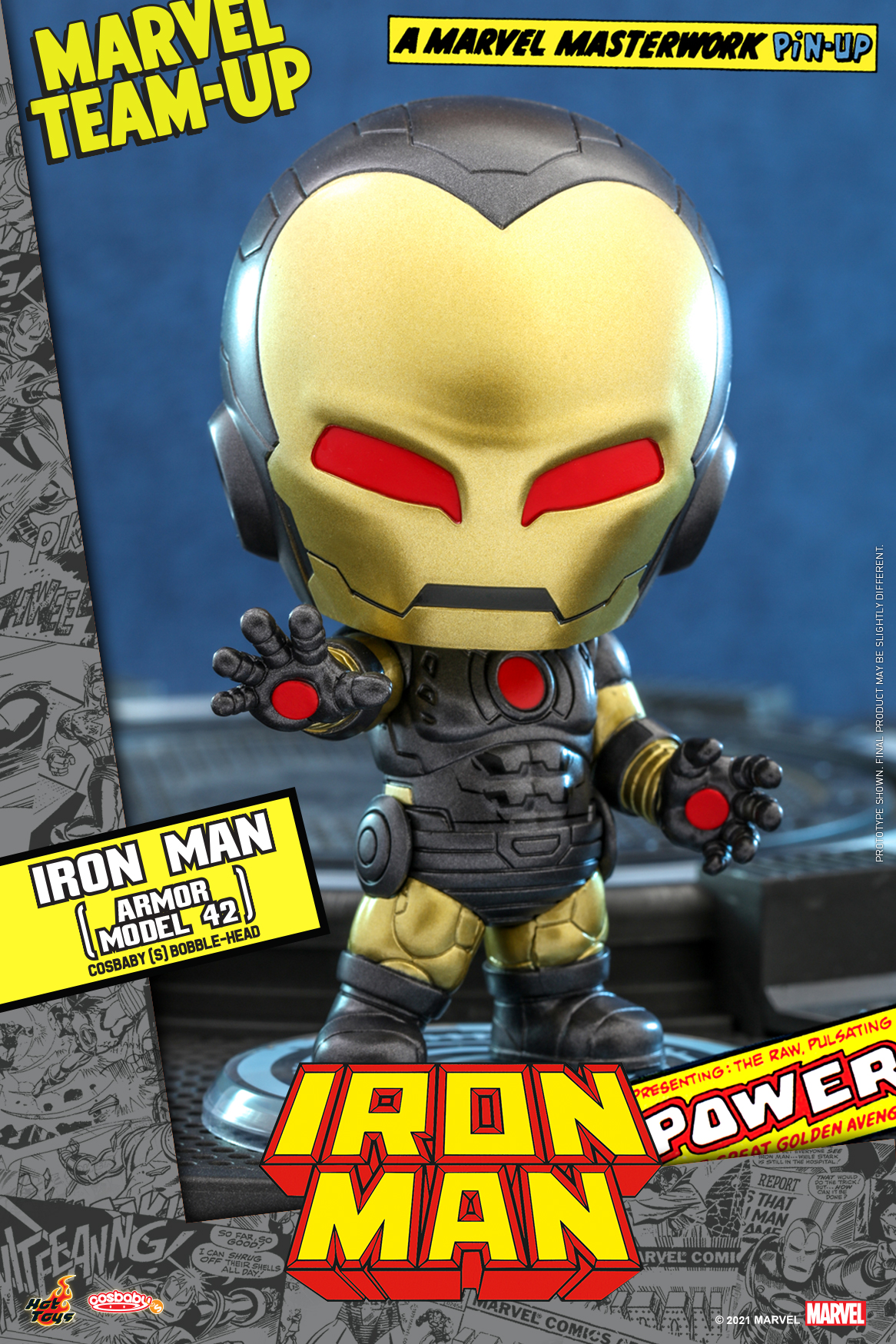 Hot Toys - Marvel Comics - Iron Man (Armor Model 42) Cosbaby_PR1