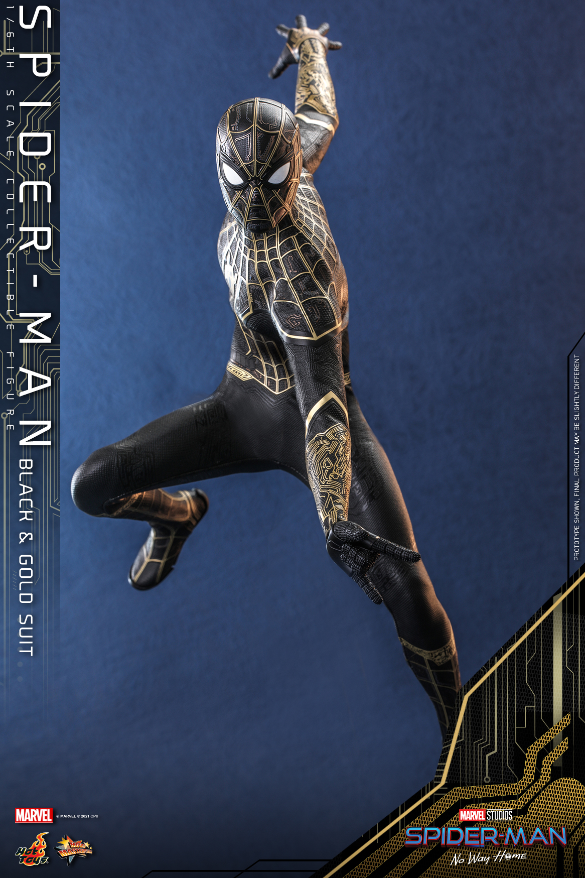 Hot Toys - SMNWH - Spider-Man (Black and Gold Suit) collectible figure_Update_PR1